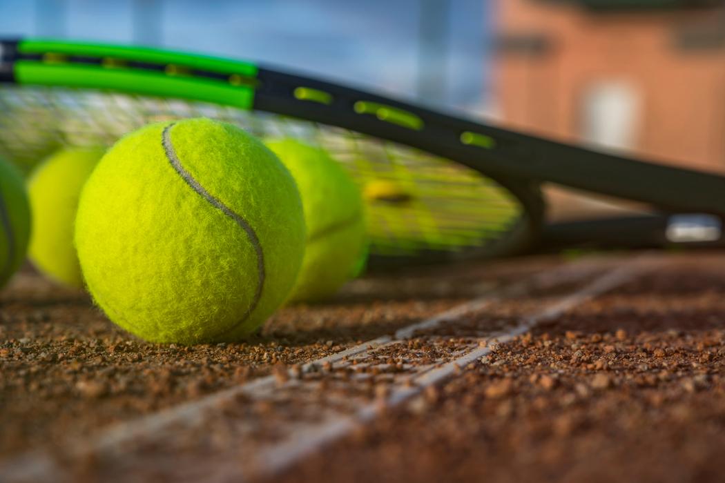 Stimmungsbild Tennis