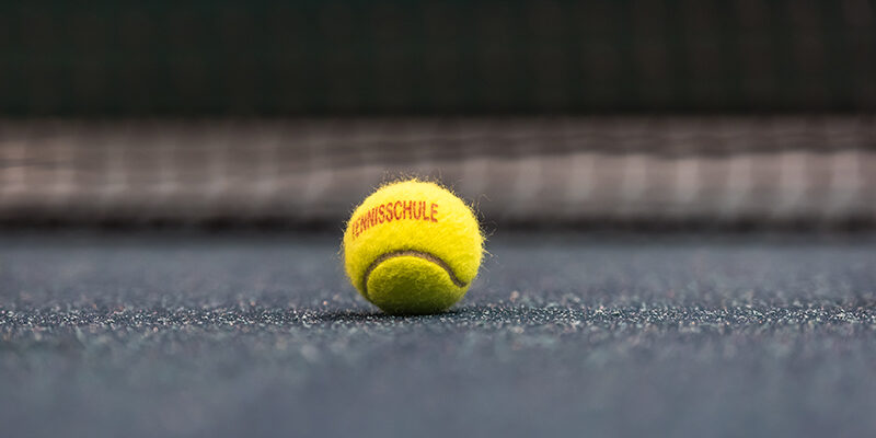 Stimmungsbild Tennisball