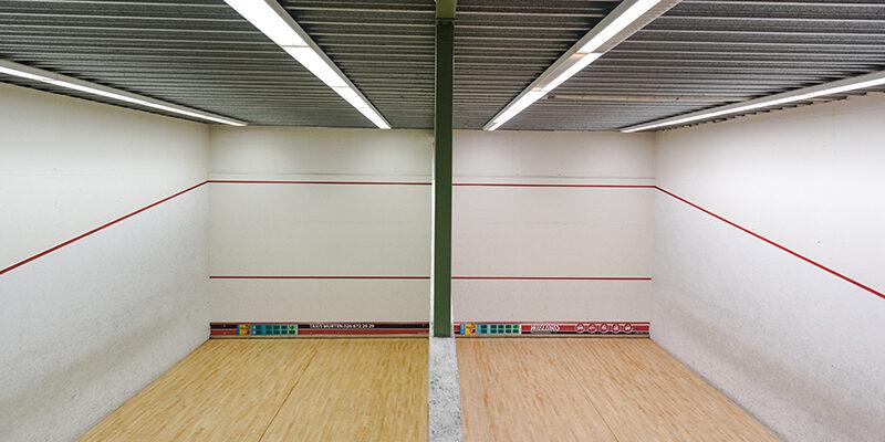 Squashplatz im TSC Murten